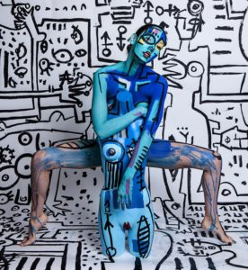 body painting by Lara Padilla Art Fashion
